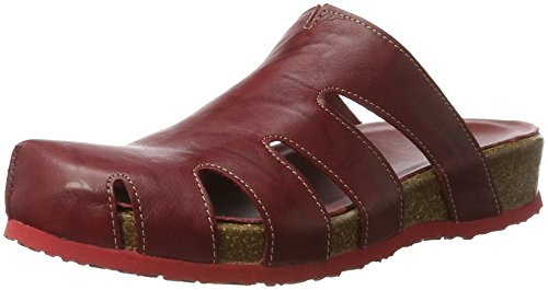 Think! Damen Yogeh Clogs Rot (ROSSO/KOMBI 72)
