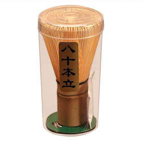 Gazechimp Teebesen Chasen 70-75 Borsten aus Bambus für Matcha Werkzeug