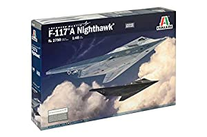 Italeri 2750S - Maqueta de avión F-117A Nighthawk (Escala 1:48)