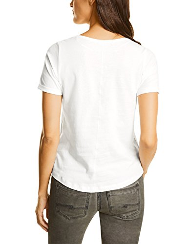 Street One Damen T-Shirt Weiß (Off White 20108)