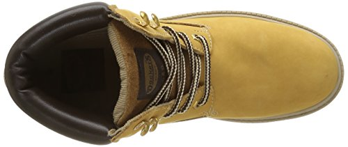 Dockers by Gerli 35fn699-300910, Bottes courtes mixte adulte Jaune - Gelb (GOLDEN Tan 910)