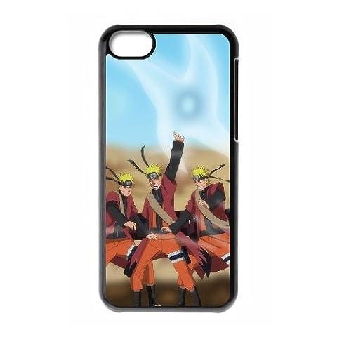 Naruto ShiPpuden 3 coque iPhone 5C Housse téléphone Noir de