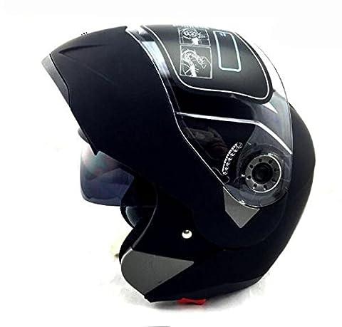 Casque De Moto Flip Up Motocross Full Face 7 Couleurs