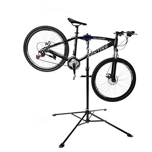Cocoarm Fahrradmontageständer Reparaturerständer mit Werkzeugablage Fahrrad Reparaturständer belastbar bis 30kg Profi 360 ° -