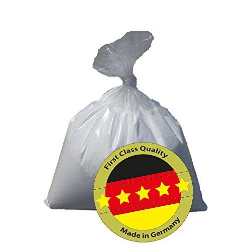QSack Sitzsack Füllung deutsche Qualitäts-Mikroperlen, 18 Liter Nachfüllpack