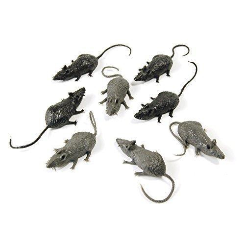 4Scary Stuff Mäuse (8/Pkt) (Scary Stuff Für Halloween)