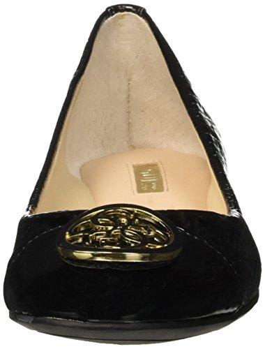 Guess Debossed Symbol Patent/butter, Ballerines femme Noir - Nero