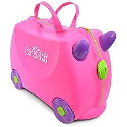 Trunki Maleta correpasillos y equipaje de mano infantil: Trixie (Rosa)