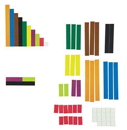 (Learning Resources LER7708 Riesiges magnetisches Demonstrationsset Cuisenaire-Stäbchen)