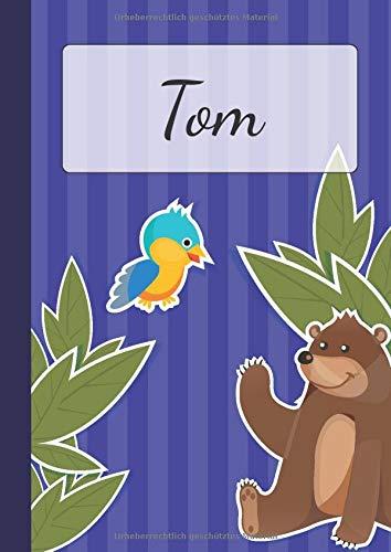 iertes Malbuch | Ein schönes Kinderbuch, aber auch für Erwachsene geeignet |  Notizbuch für Jungen & Mädchen | Zeichenbuch mit ... Seiten mit Tierdesigns | Tolle Geschenkidee ()