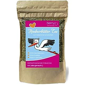 Himbeerblttertee-75-g-Auch-bei-Schwangerschaft-und-Geburtsvorbereitung-Tee-aus-Himbeerblttern-100-Natrlich-ohne-Zusatz-von-Farbstoffen-und-Zucker-EINWEG