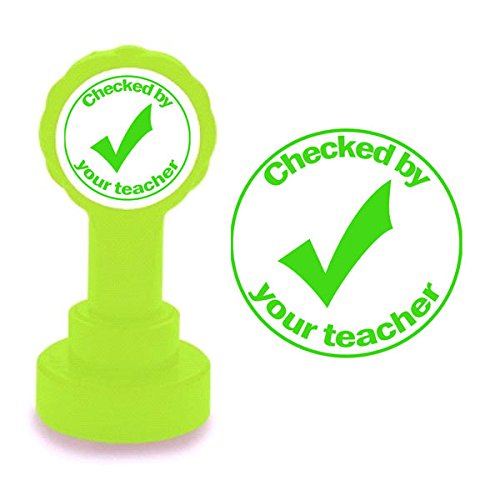 checked-by-your-teacher-tick-design-teacher-self-inking-marking-stamp-green-ink