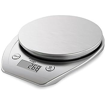 Camry bilancia digitale per cibo da 5kg multifunzione con termometro timer orologio da - Bilancia da cucina digitale ...