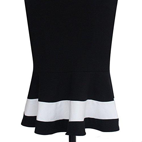 KingField - Robe - Crayon - Femme Noir Noir M Noir - Noir