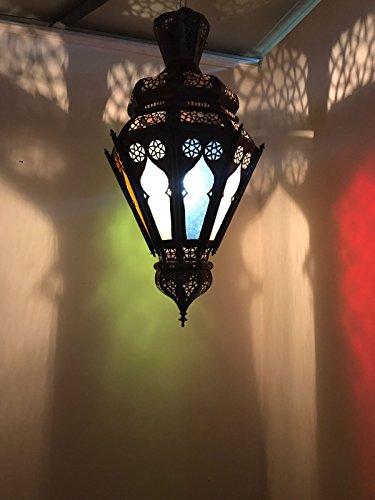 Kronleuchter Lampe Laterne Marokkanische östlichen Aluminium Ethnic Chic Boho 0933 (Laterne Boho)