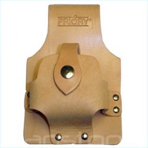 Priory 365 Scaffolders Tanned Leather Tape Measure Holder Large