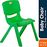 #8: Bey Bee Strong and Durable Plastic Chair for Kids (1-4 Years) Green