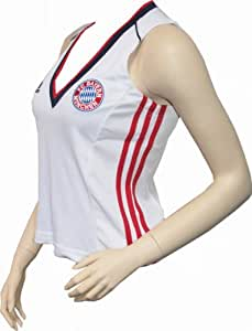 MAILLOT FOOT BAYERN MUNICH FCBM-FEMME-blanc-Taille 46