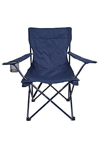 Mountain Warehouse Chaise Fauteuil Extérieur Pliable Confort Jardin Camping Voyage