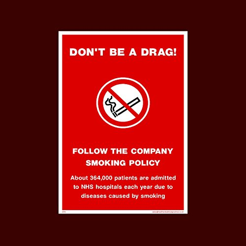 Pub Caf/é USSP/&S 2x No Smoking or Vaping on these premises Sticker Sign 75x100mm Business Bar