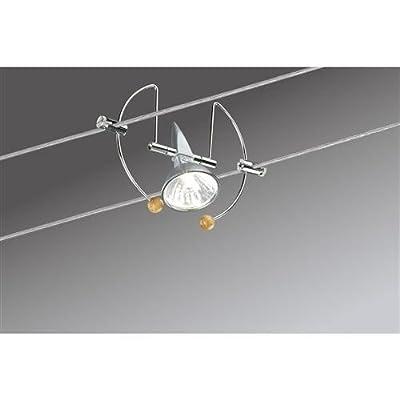 Paulmann 97049 Wire System Bogen 105 5x20W GU5,3 Alu/Chrom 230/12V 105VA Metall von Paulmann Leuchten - Lampenhans.de