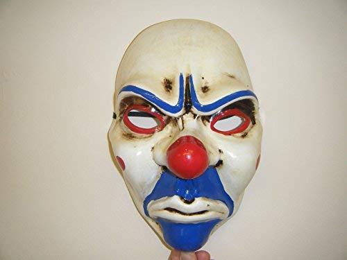 Räuber Joker The Heist 2 Maske - Zahltag - Kostüm Wrestling Erwachsene ()