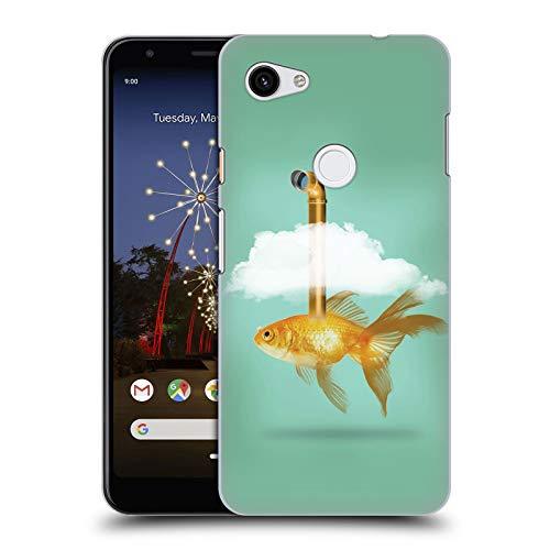 fizielle Vin Zzep Periskop Goldfisch Fisch Harte Rueckseiten Huelle kompatibel mit Google Pixel 3a XL ()