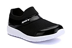 Sparx Women Black White Mesh Running Shoes -SX0089LBKWH