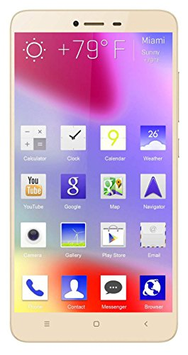 Loveme T10 4G Finger Print 5.5 inch 4G 16 GB Internal Memeory 2 GB RAM Dual-SIM 13 Mpix Camera Android Phone in Gold Colour