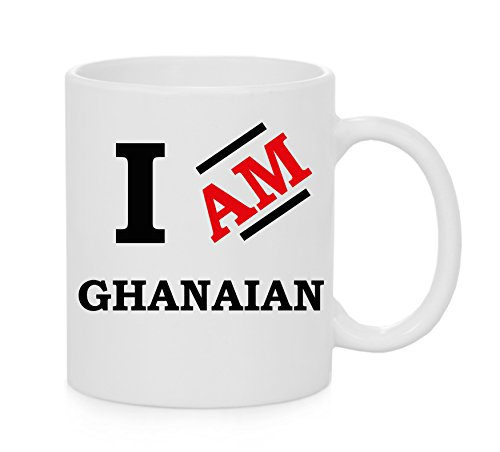 Ich bin ghanaische Offizielles Tasse