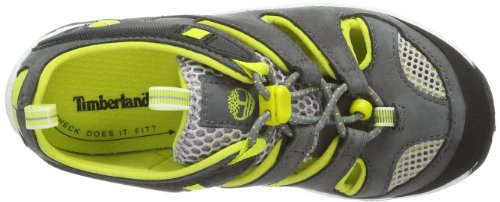 Timberland  HYPRTRL FSHMN DK GRY, sandales de sport mixte enfant gris - Gris (Grau (Grey))
