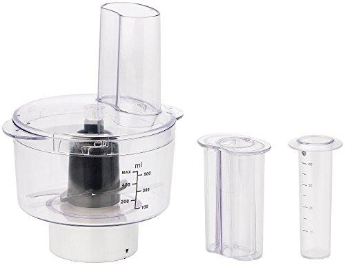 Rosenstein & Söhne Zubehör zu Komplett-Küchenmaschine: Multi-Zerkleinerer-Aufsatz für KM-4212 & KM-6618 (Standmixer mit Mixglas)