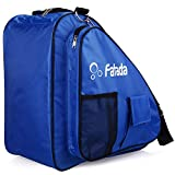 Fafada Skatertasche Inliner Tasche Schlittschuhtasche Skate Bag Wasserabweisend Tasche für Skate Schlittschuh Rollschuhe bis zu 38 Gr. Blau