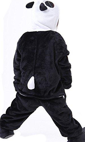 LATH.Pin per bambini Unisex Jumpsuits One–Suit pigiami pigiama Halloween Carnevale tierkomstüme panda