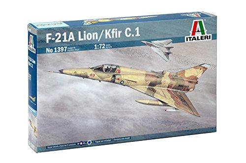 Italeri 510001397 1:72 IAF-KFIR C2/F-21 Lion -