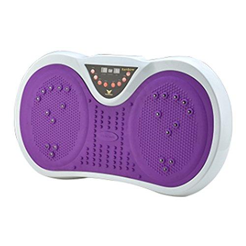 RanBow neue Vibrationsplattform, einfach zu schlanke, Ganzkörper-Massagegerät-Maschine dünne Übung Fitness mit MP3-Player