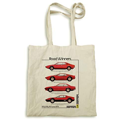 Ferrari Road WInners 1975–1979 sac naturel