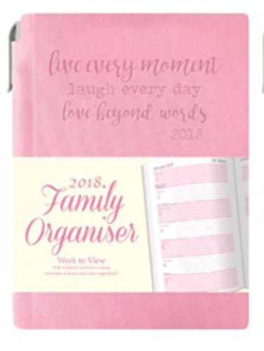 A6 2018 Home Family Week to View Organiser Flexi Cover for sale  Delivered anywhere in Ireland