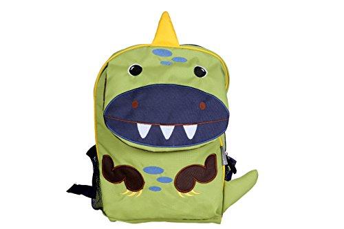My Milestones PVC-Free Kids/Toddler/ 3D Animal faced Premium Backpack/Preschool Bag – Dino