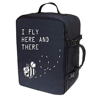 Multifunktions-Handgepck-Rucksack-gepolstert-Flugzeugtasche-Handtasche-Reisetasche-Rucksack-gepolstertkoffer-fr-Flugzeug-Gre-40x30x20cm-farbig-102