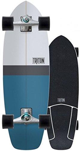 CARVER Triton Blue Horizon - Surfskate Komplett (Komplett Skateboard Carver)