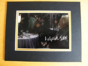 Sportagraphs Matyelok Gibbs véritable main signé autographe 10 x 8 Photo Mount & Coa Harry Potter