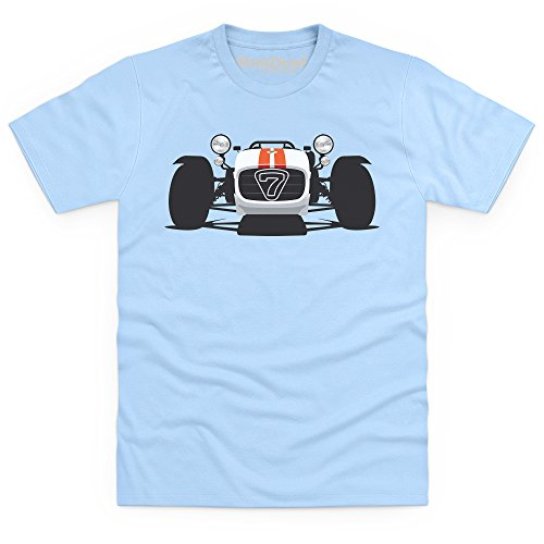 General Tee R500 Sports Car T-Shirt, Herren Himmelblau