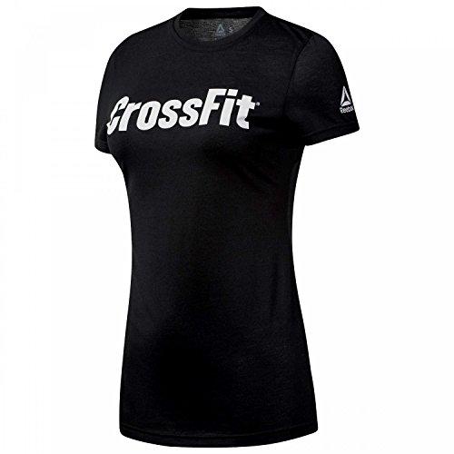 Reebok DH3712_XS Camiseta, Sin género, Negro