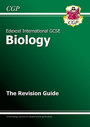 Edexcel  International GCSE Biology Revision Guide with Online Edition (A*-G course) (CGP IGCSE A*-G Revision)