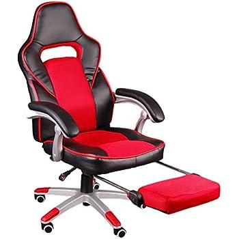 XtremPro® Gamma PC Gamingstuhl schwarz rot Bürostuhl Schreibtischstuhl Racing
