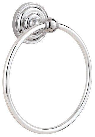 Kwikset 080RDB 26 TWL RNG Pfister 90800-003 Redmond Towel Ring, Polished Chrome by Kwikset -