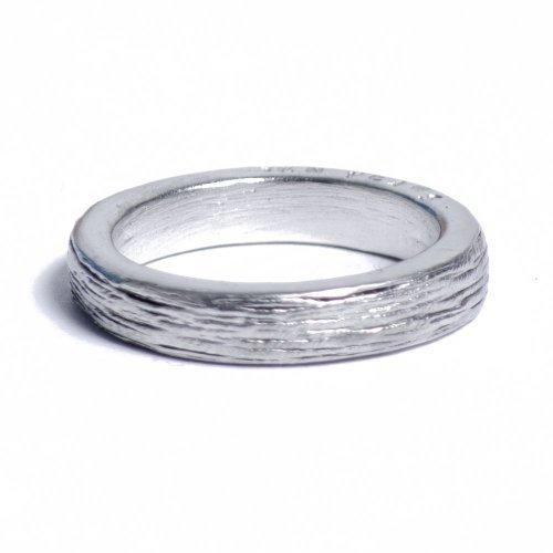 10. Jahrestag Idee Damen Zinn Ring mit englischer Inschrift Zehn Jahren