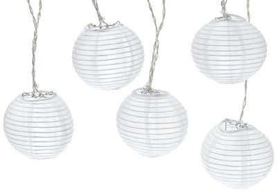 """Best Season 476-09 LED-Lichterkette """"Rice Ball White"""", 10-teilig, outdoor, 4,5 m Farbe: daylight von Best Season - Lampenhans.de"""