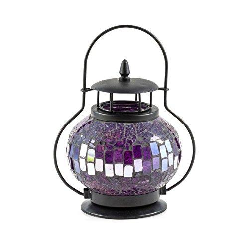 PAJOMA 16631Mosaic Lantern–Purple